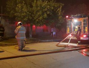 Parte Policial: Incendio en vivienda de calle Tomas Scott
